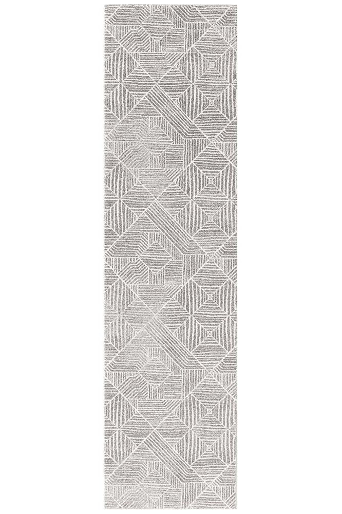 Rugs - Oakley Contemporary Silver Rug