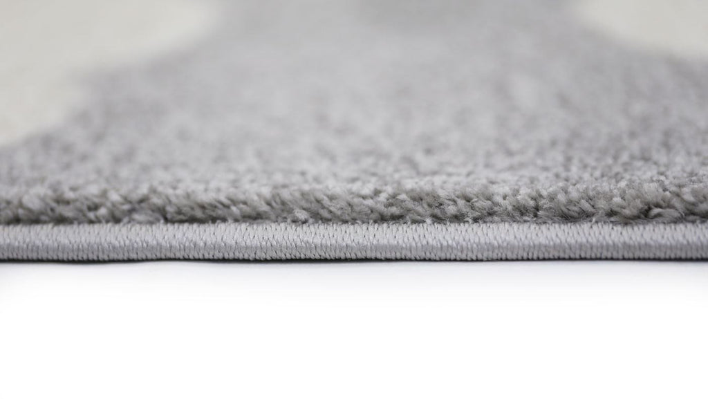 Rugs - Pica Cloud Grey White