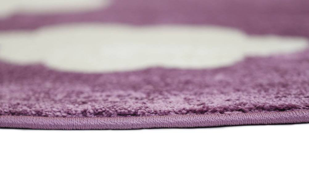 Rugs - Pica Cloud Purple White