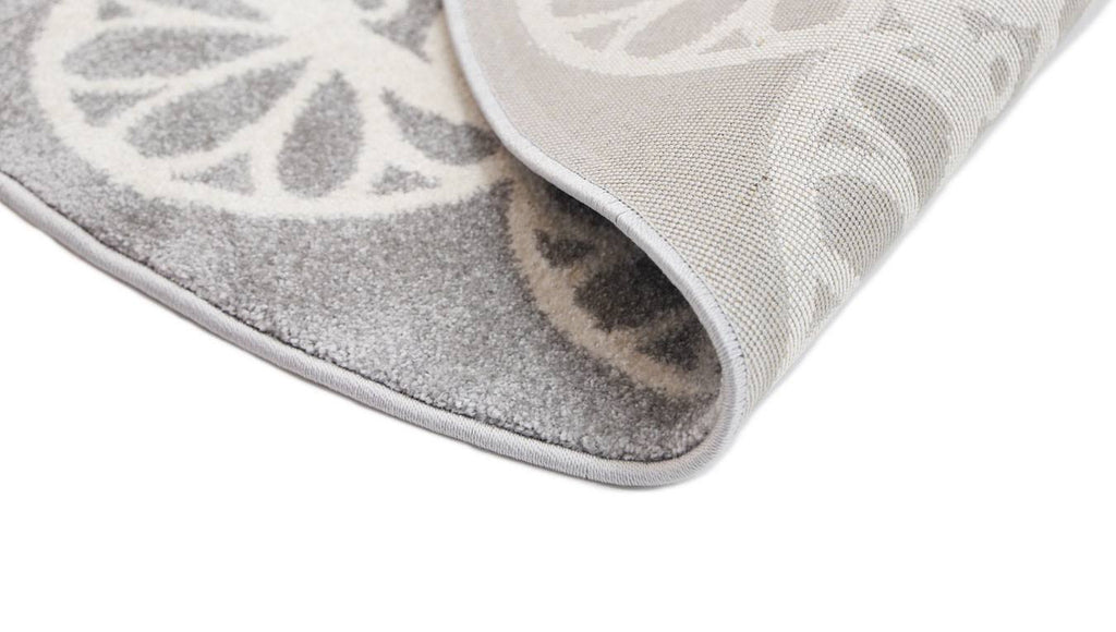 Rugs - Pica Doily Grey White