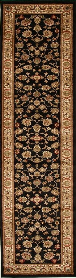 Rugs - Rani 2 Black Persian Rug
