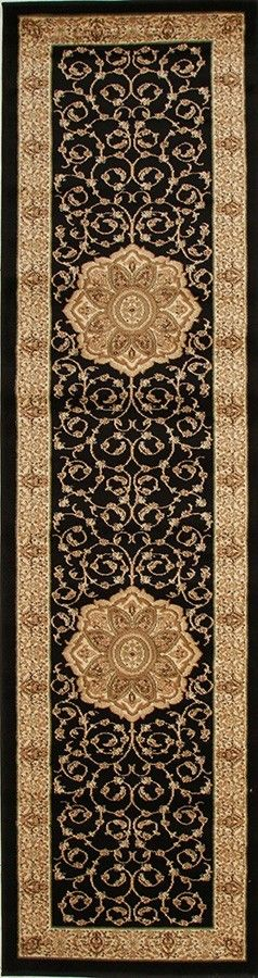 Rugs - Rani 3 Black Persian Rug