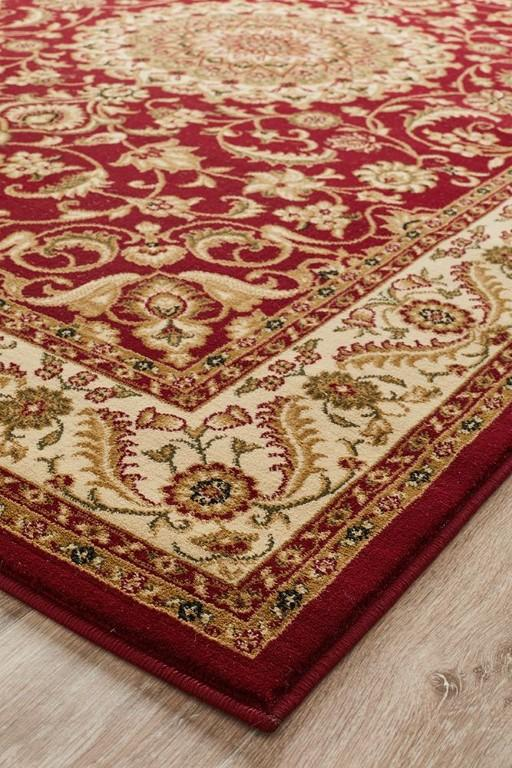 Rugs - Salaam 9 Red Ivory Persian Rug