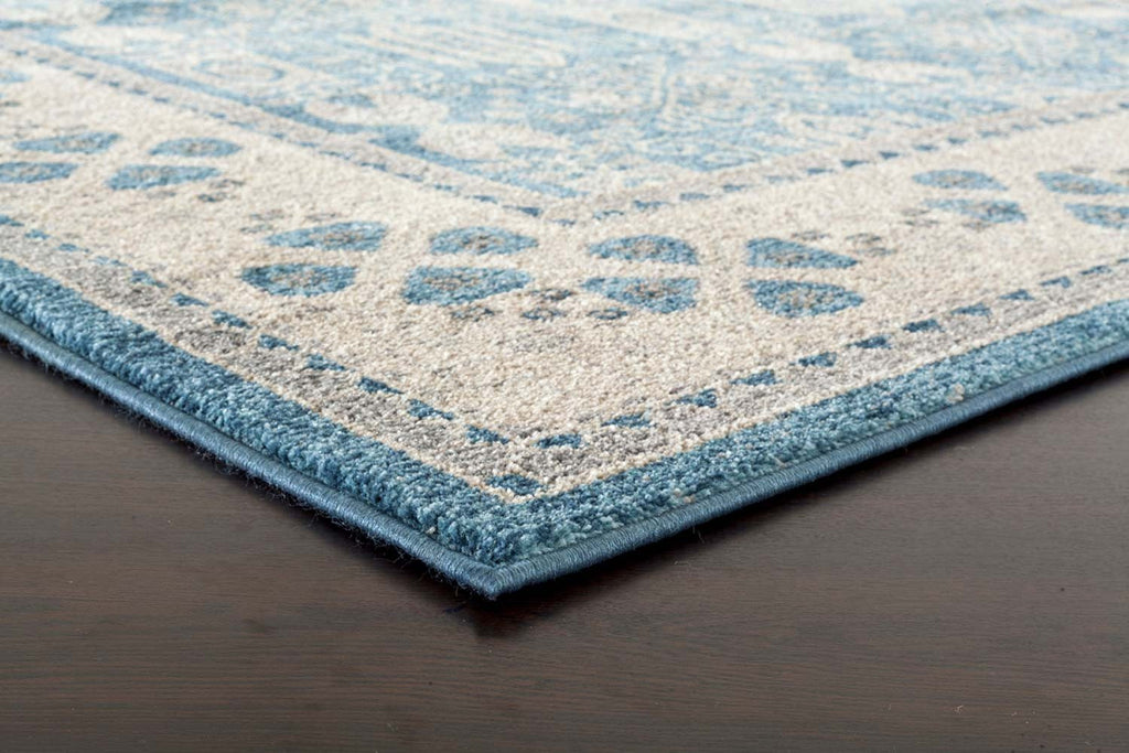 Rugs - Saya 880 Blue Traditional Rug