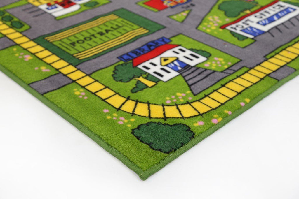 Rugs - Zoe Fun City Road Kids Rug