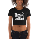 The God Lie Funny Atheist Women's Crop Tee