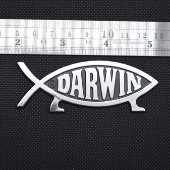 Darwin Fish Emblem - Logikal Threads