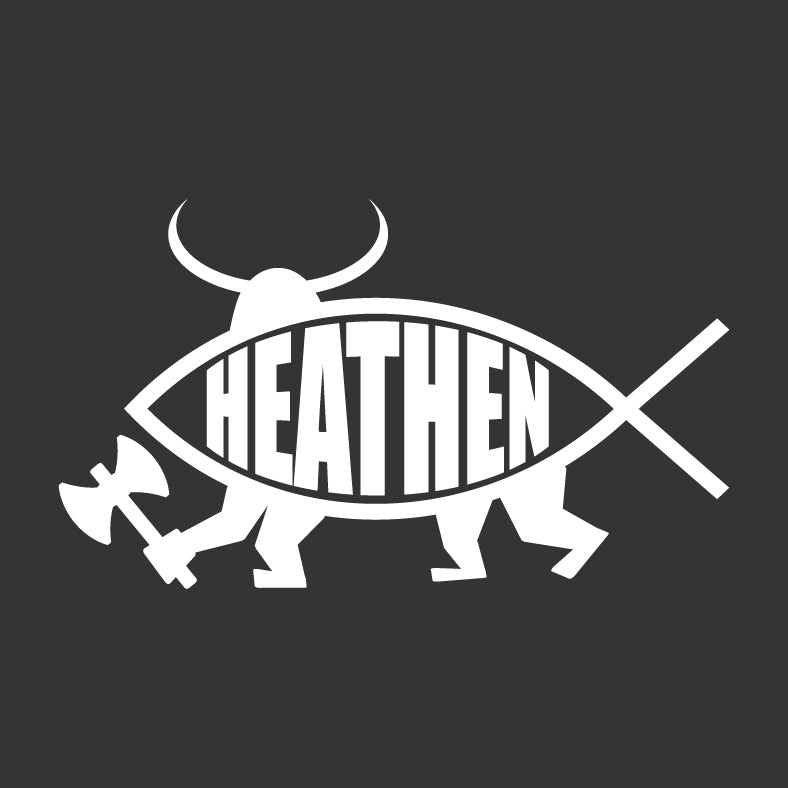 Heathen Sticker - Logikal Threads