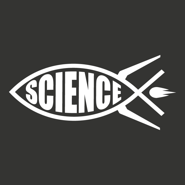 Science Rocket Vinyl Decal - Logikal Threads