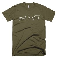 God Is Imaginary Funny Atheist Shirt - Logikal Threads