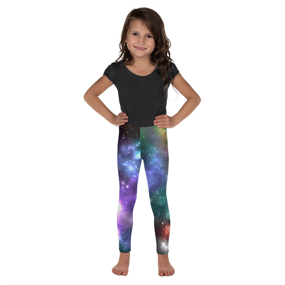 Kid's Galaxy Leggings - Logikal Threads