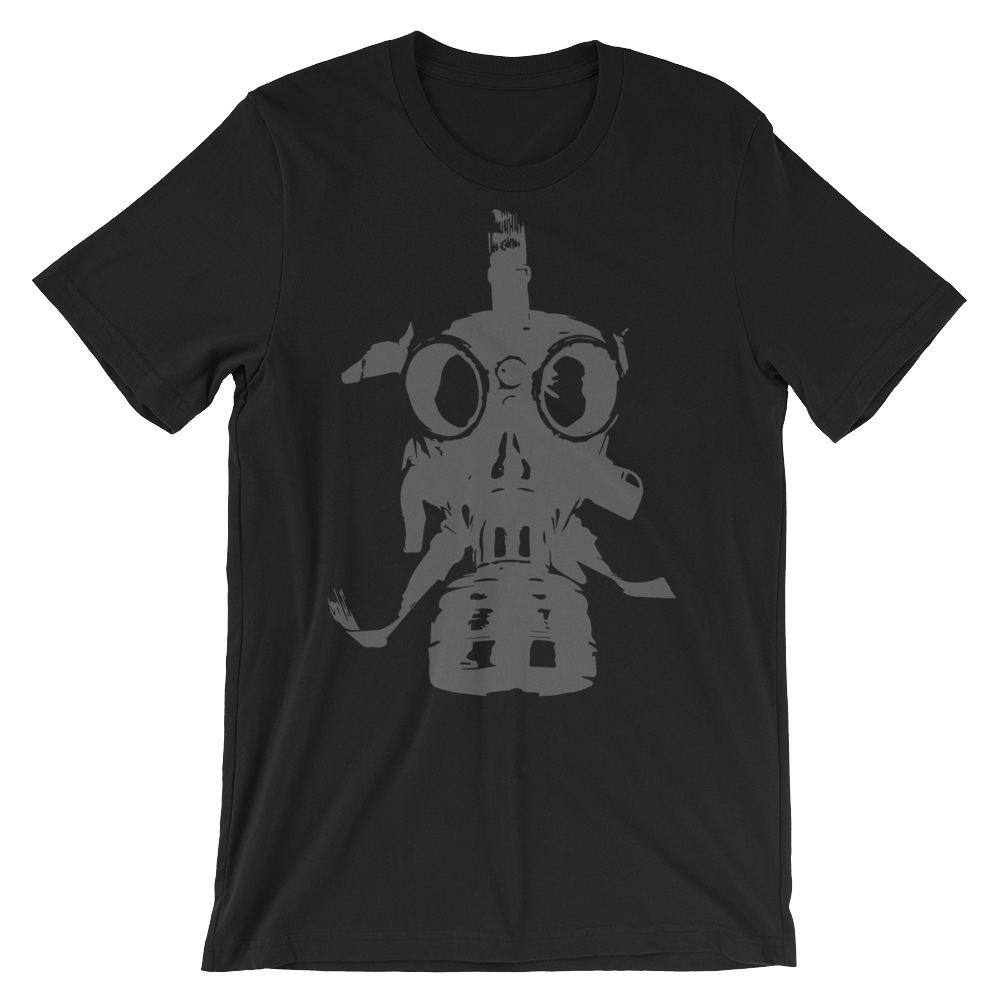 Gas mask T-shirt - Logikal Threads
