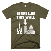 Build This Wall T-Shirt - Logikal Threads