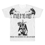 Attack of the Atheist T-Shirt - Logikal Threads