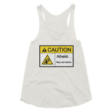 Caution Atheist May Eat Babies - Women's Tank - Logikal Threads
