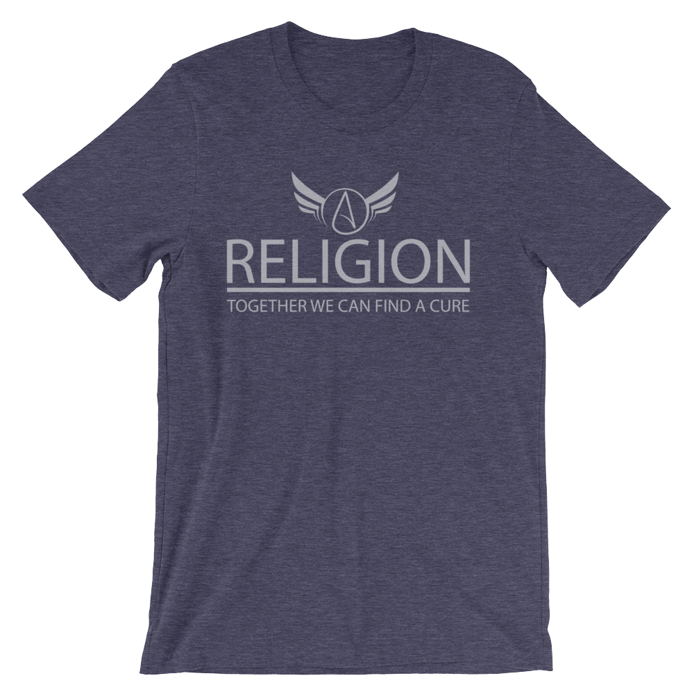 Religion together we can find a Cure T-shirt - Logikal Threads