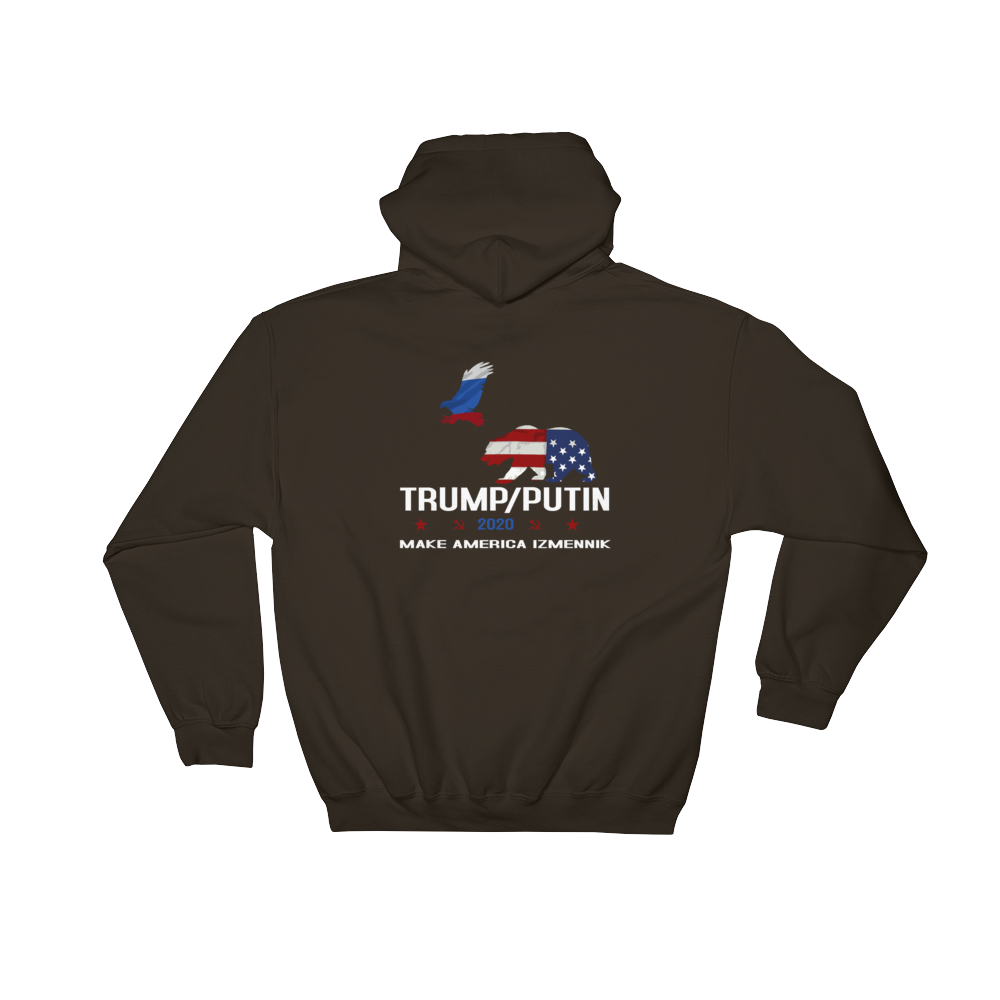 Trump Putin bear and Eagle 2020 campaign hoodie. - Logikal Threads