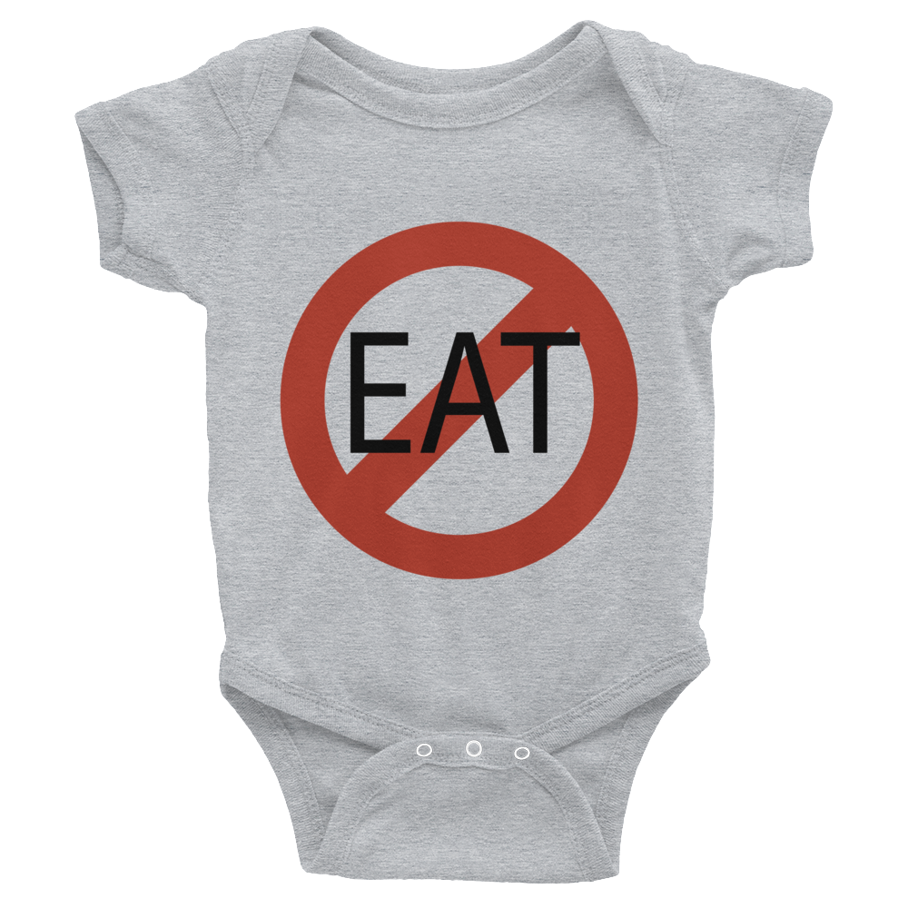 Atheist DO NOT EAT this Baby! Onesie - Logikal Threads