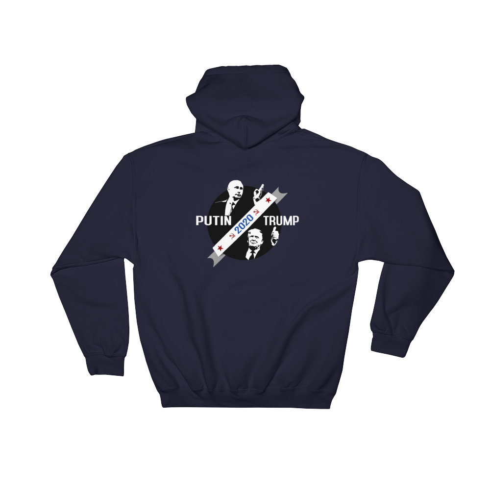 Trump Putin 2020 - hooded Sweatshirt - Logikal Threads