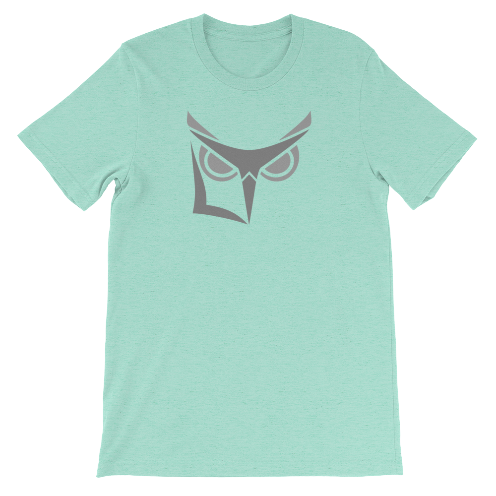 Logikal Threads Wise Owl Gray - short sleeve - Logikal Threads