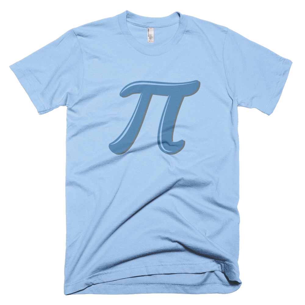 Pi Day Symbol T-Shirt - Logikal Threads