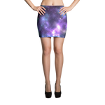 Galaxy Print Mini Skirt - Logikal Threads