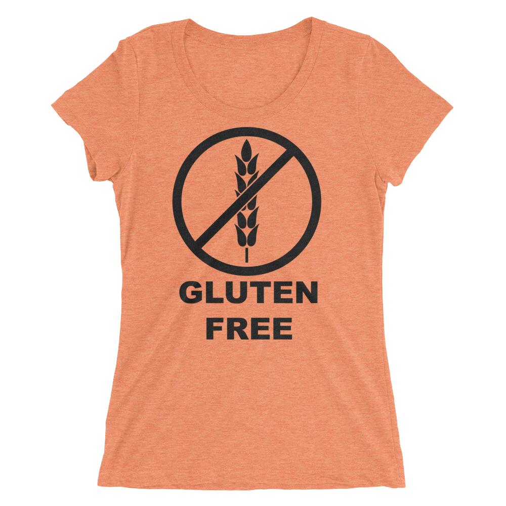 Gluten Free Ladies T-shirt - Logikal Threads