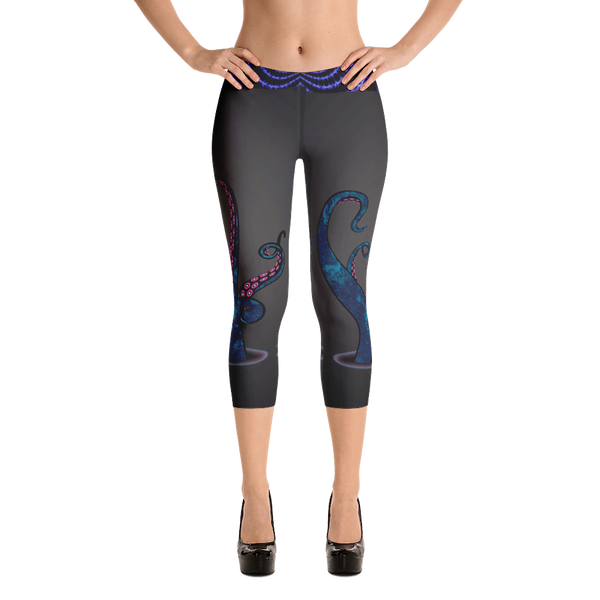 Tentacle Capri Leggings - Logikal Threads