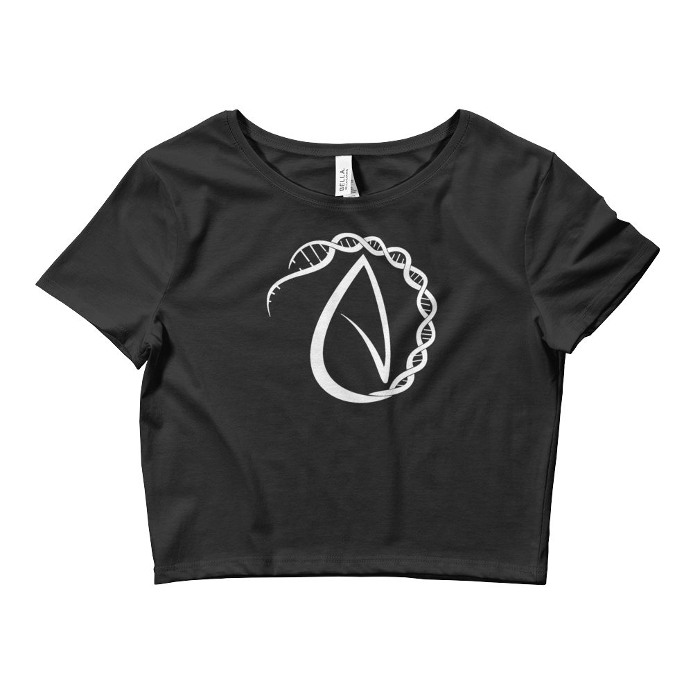 D N Atheist Crop Top T-shirt - Logikal Threads