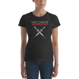 Vaccinate Your Kids Ladies T Shirt - Logikal Threads