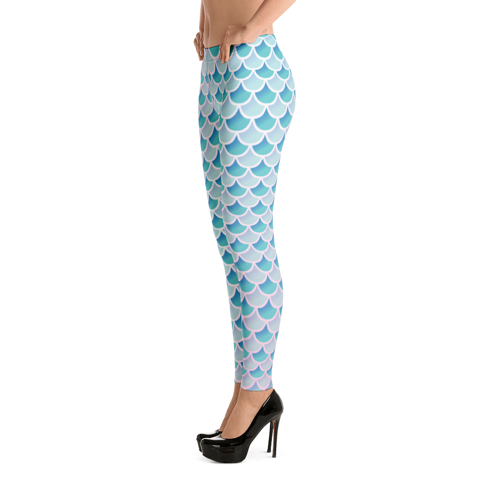 Mermaid Scale Seapunk Leggings - Logikal Threads