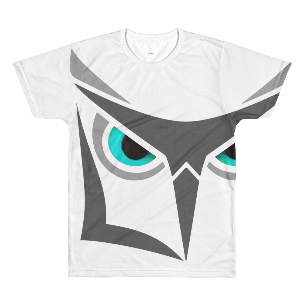 Logikal Threads Wise Owl Sublimation T-Shirt Over Sized - Logikal Threads