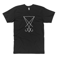 Sigil of Lucifer Tall T-Shirt - Logikal Threads