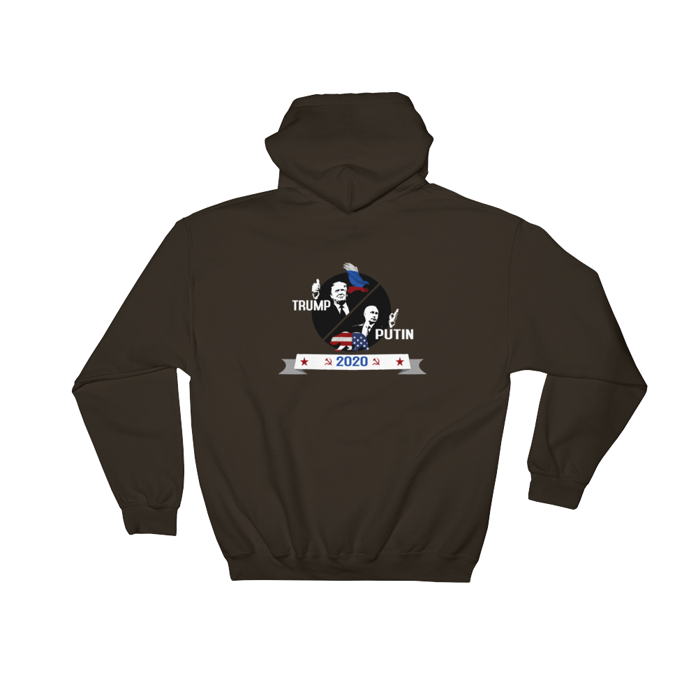 Trump Putin with bear and Eagle 2020 campaign hoodie - Logikal Threads