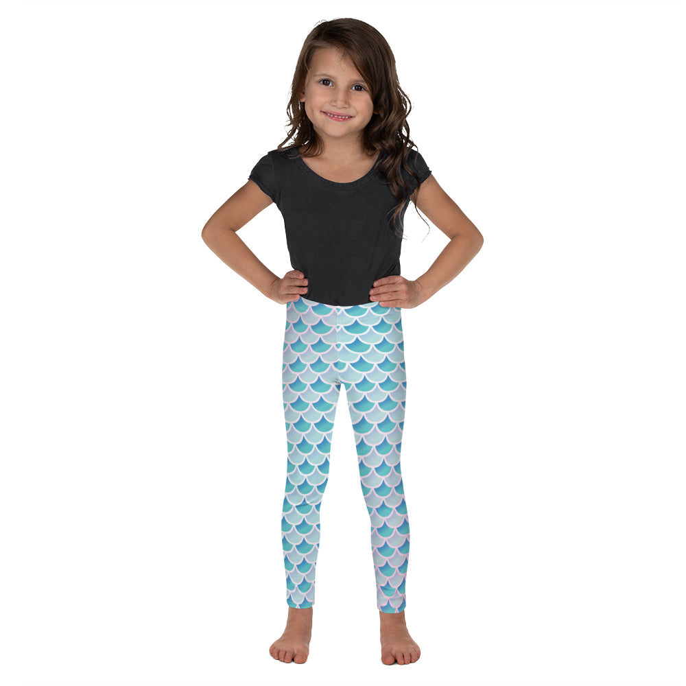 Mermaid Scale Kid's Leggings - Logikal Threads