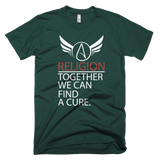 Religion Together We Can Find A Cure Funny Atheist Shirt - Logikal Threads