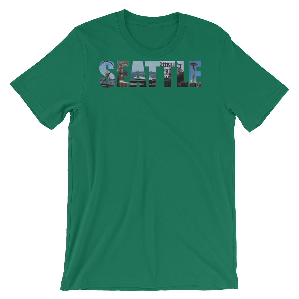 Seattle Scenes - Short sleeve t - Logikal Threads