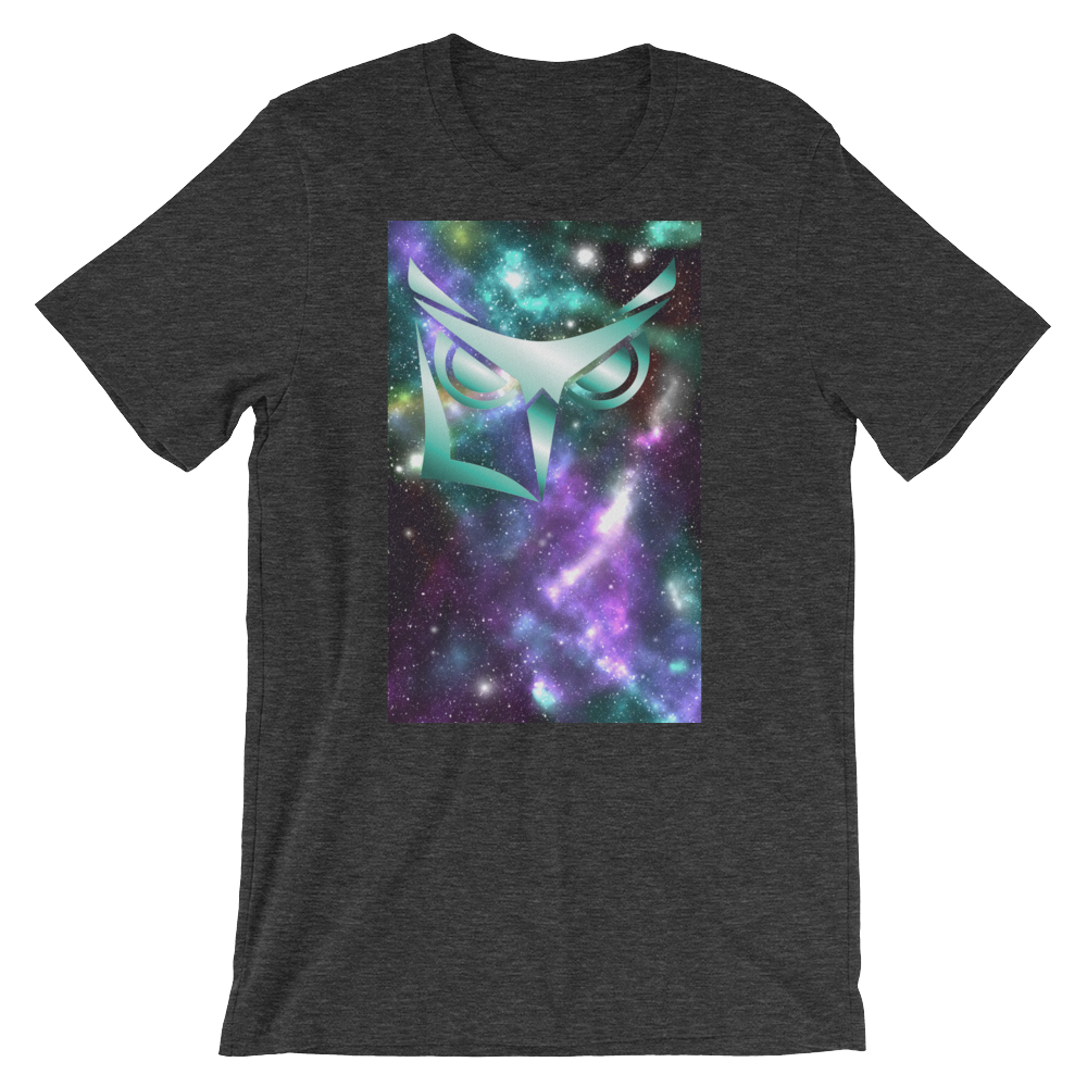 Logikal Threads Wise Owl Sublimation in Space T-shirt - Logikal Threads