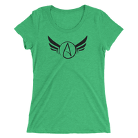 Atheist Wings Ladies T-shirt - Logikal Threads