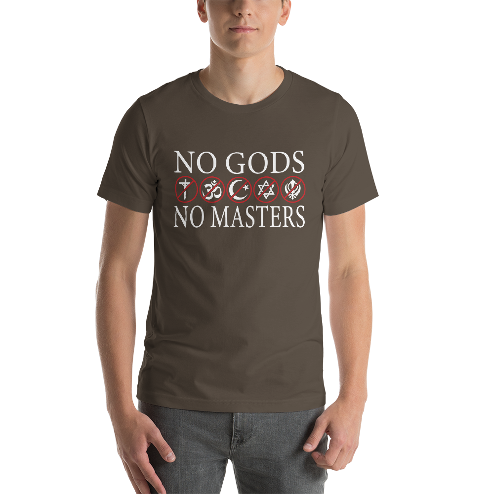 No Gods No Masters - Graphic Tee - Logikal Threads