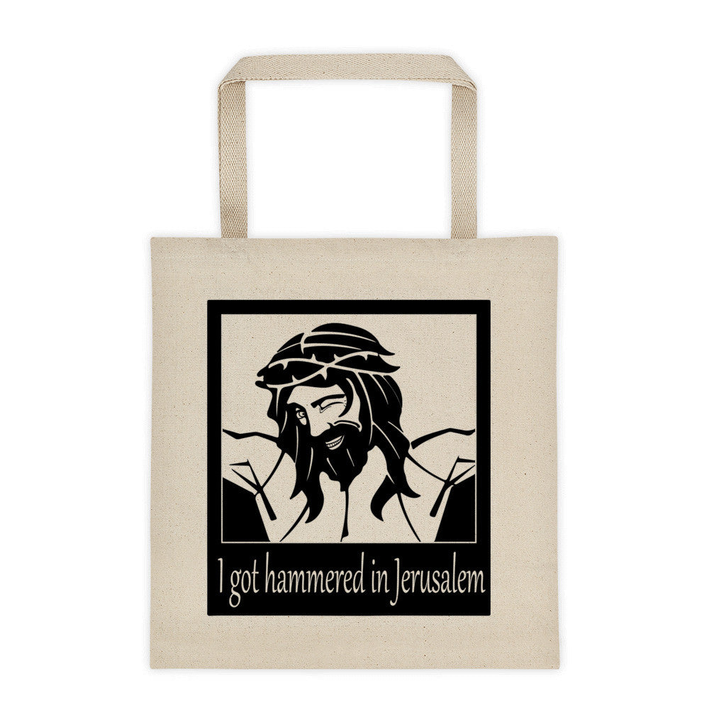 Hammered in Jerusalem Tote Bag - Logikal Threads