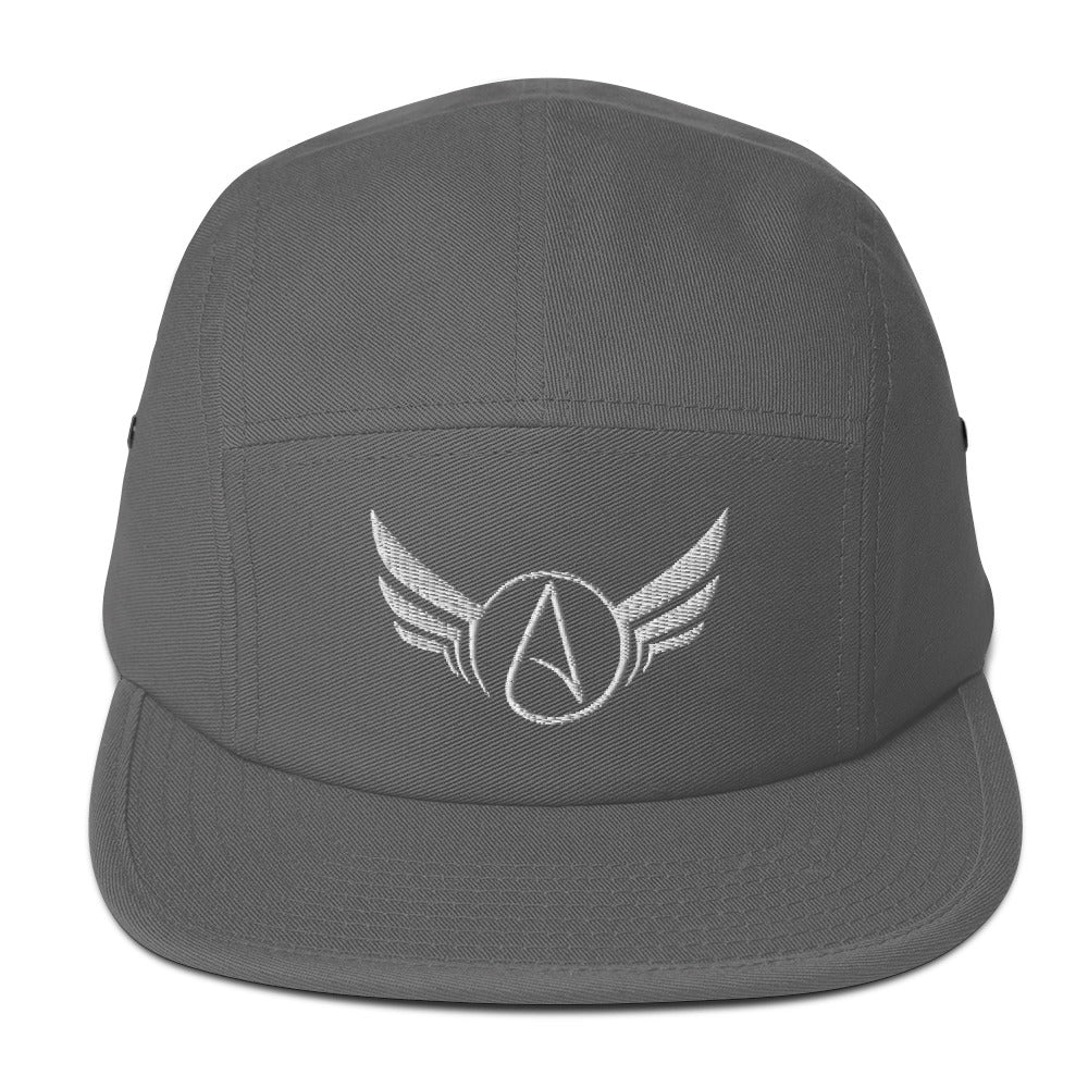Atheist Wings Five Panel Cap - Logikal Threads