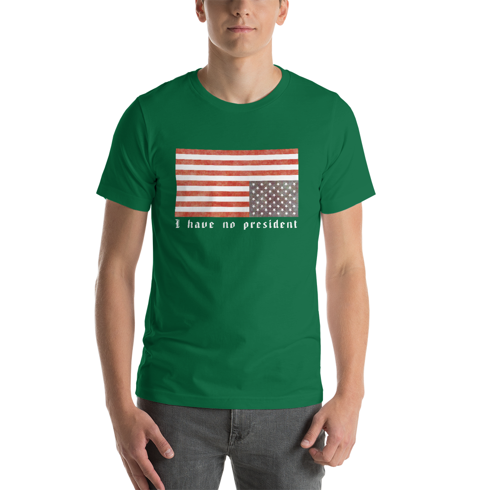Not My President - Graphic T - Logikal Threads