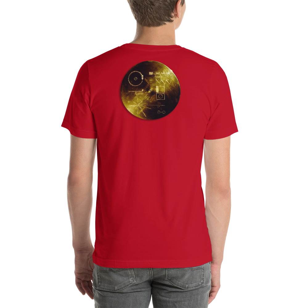 Carl Sagan Golden Disk T-Shirt - Logikal Threads