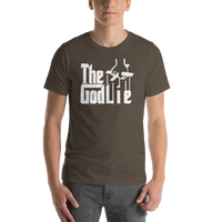 The God Lie Funny Atheist Shirt - Logikal Threads