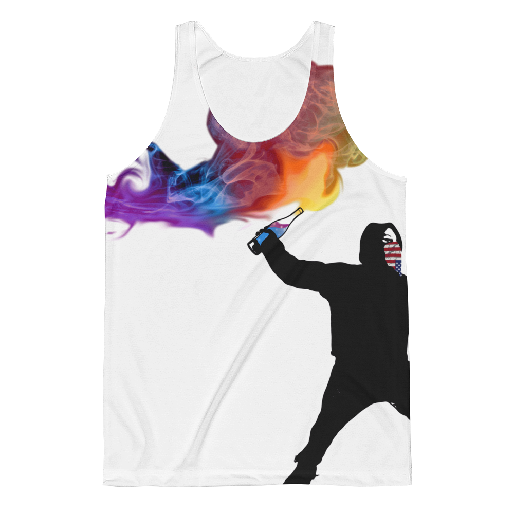 Resistance Fighter Sublimation Tank Top - Logikal Threads