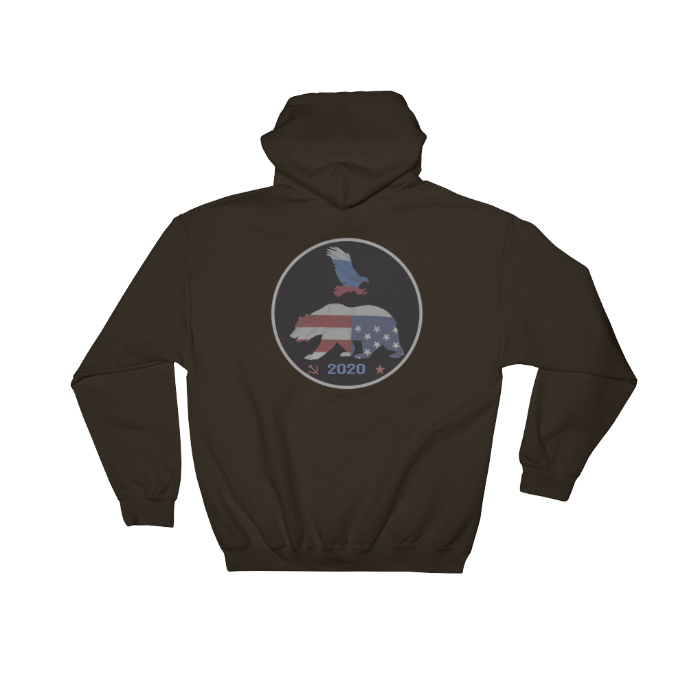 Trump Putin bear and Eagle 2020 campaign hoodie - Logikal Threads