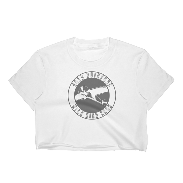 Solo Aviators Club Crop Top - Logikal Threads