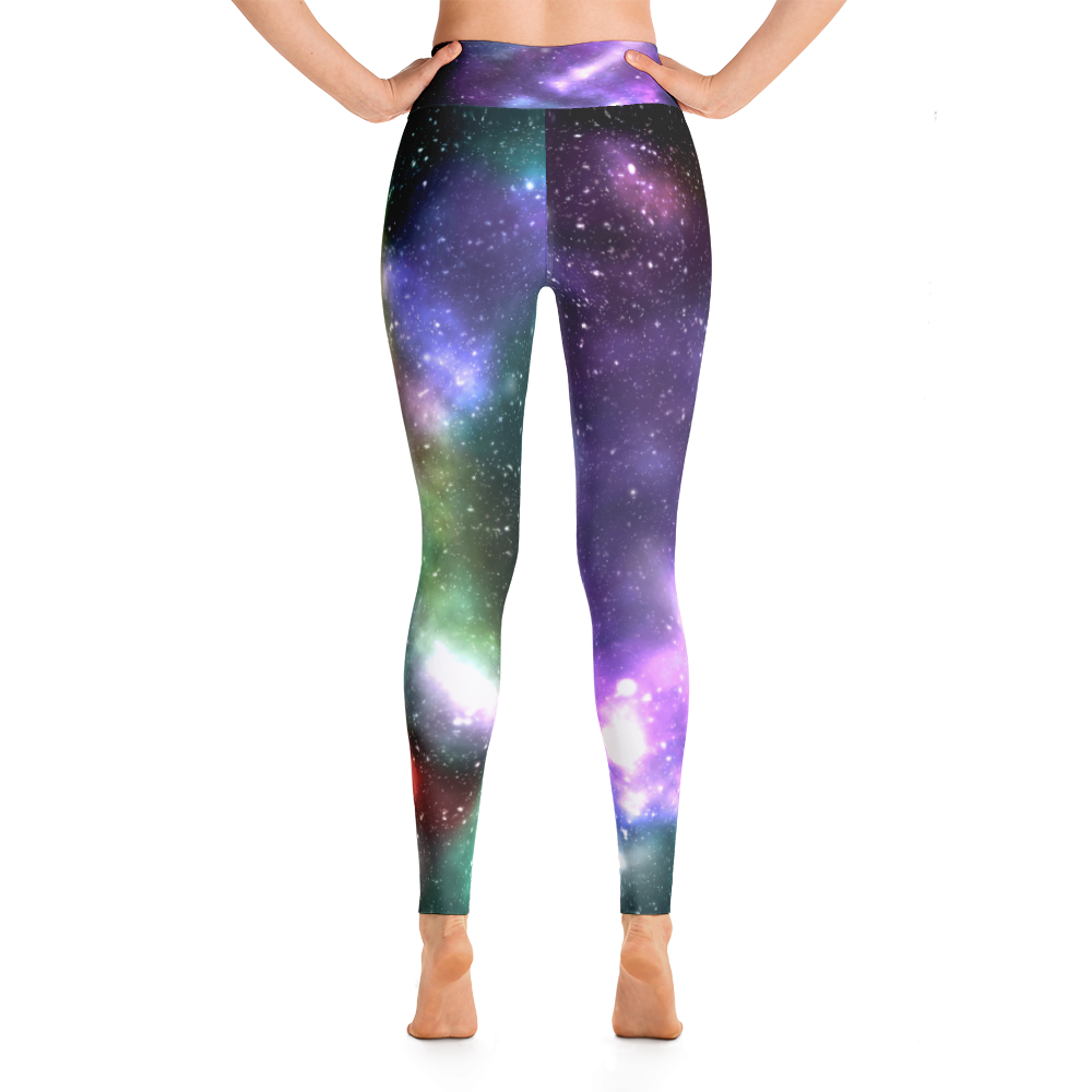 Galaxy Print Yoga Pants/Leggings - Logikal Threads