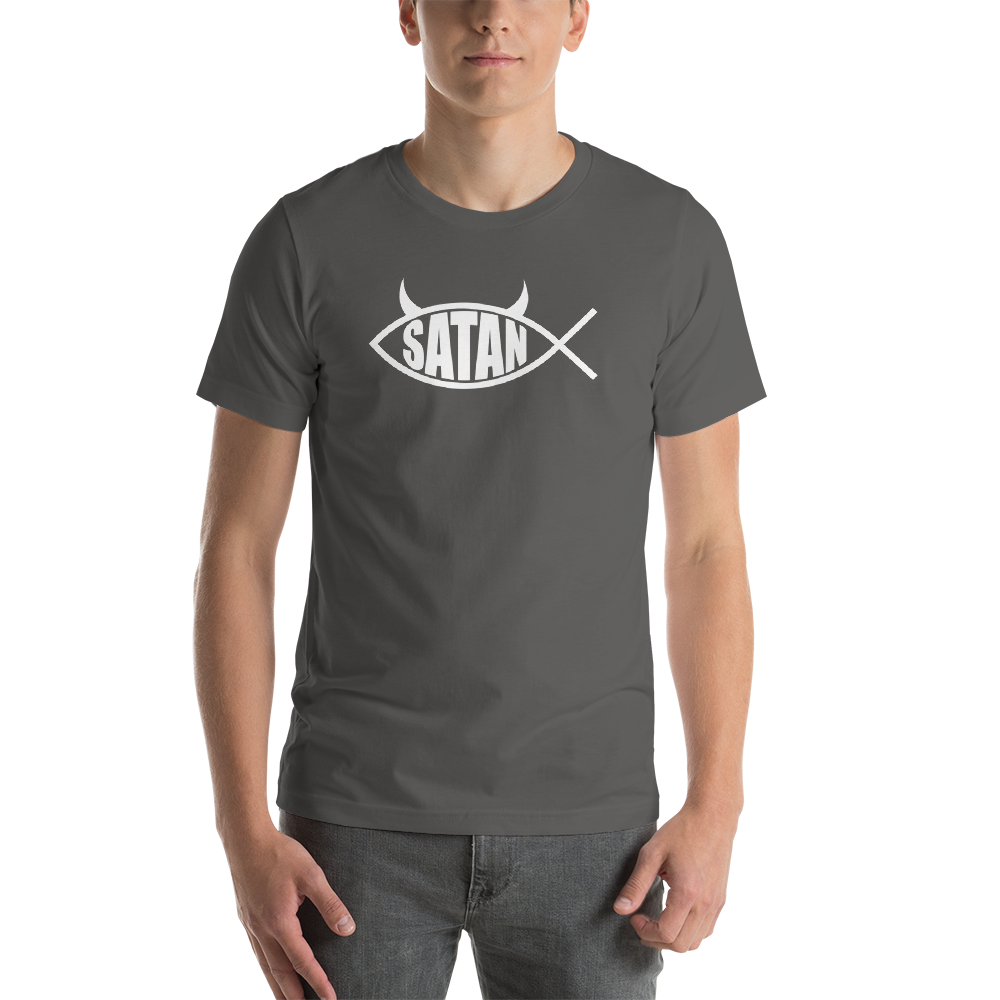 Satan Fish - Short-Sleeve Tee - Logikal Threads